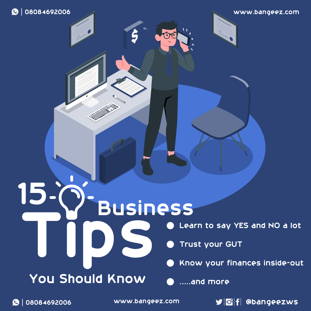 Business Tips you should know